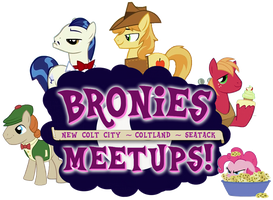 Bronies Meetups logo v1 by purpletinker