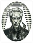 Portrait of David Cronenberg by grendeljd