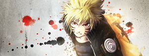 Bloody Naruto by deoxgfx
