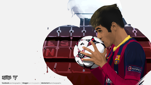 Neymar Vector Work by SanchezGraphic