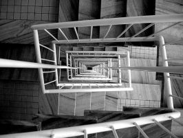 staircase by Mealyn