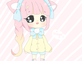 Miyu~chan, new OC :3 by PuddingChii