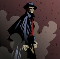 Darkman Colored by Newbeing