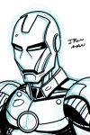 quick ironman sketch by darkskythe1979