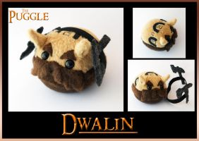 The Puggle - Dwalin by callykarishokka