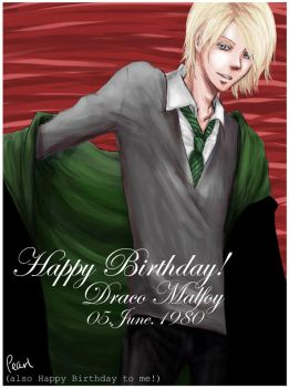 Draco Malfoy - June 05 by orangy-pearl