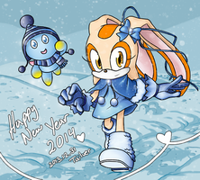 Happy New Year 2014 by Miles-Loves