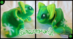 Little Litters - Shamrock - Plush by Sparkle-And-Sunshine