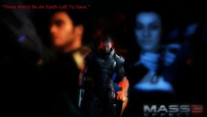 Mass Effect 3 Poster by Spartan-279