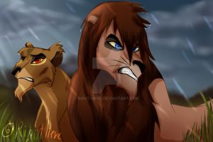 Stay close, Zira by Right-here