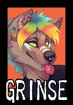 BADGE for xXGrinsekatze by LiLaiRa