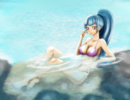 sonata beach by gunslingerpen
