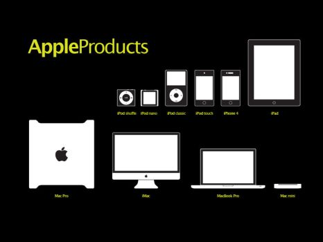 Apple Product Line 2011 by siawgu