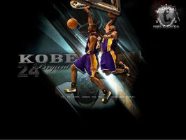 Kobe Bryant Wall by Cuca24