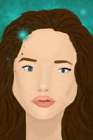 Angelina Jolie by JSoldierGirl