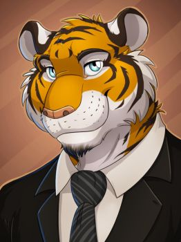 Suit Tiger by dream-and-nightmare