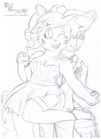 WIP Wedding Reception by PaintHerDream