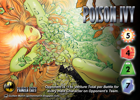 Poison Ivy (Pamela Isley) Character by overpower-3rd