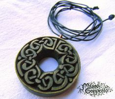 CELTIC TOKEN PENDANT by MassoGeppetto