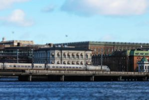 Trains of Stockholm 3 by JRL5