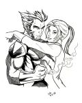 Wolverine and Kitty Pryde by SketchB0000k