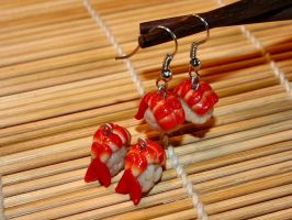 Surimi Earring by SpankTB