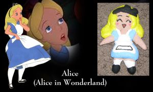 Alice Ornament by All-shall-fade
