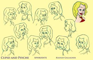 Aphrodite expression sheet