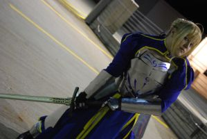 Saber and Caliburn by mystaya171