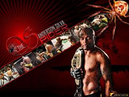 Anderson 'The Spider' Silva by olieng