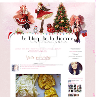 Christmas layout by DeatHtheBonezZxD