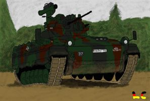 MS Paint: SPz Marder 1A3 by ZEECAPTEIN