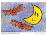 Happy Halloween ATC 55 by Quaddles-Roost