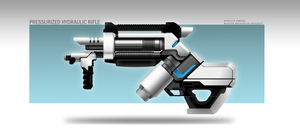 Hydraulic Pressurized Rifle by MauricioRomano