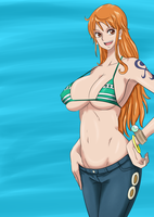 Nami New World by BlackBarba