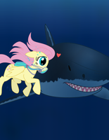 Pony vs Wild - Jaws by CapnChryssalid