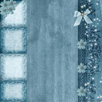 Blue emotion Papersheet by Ecathe