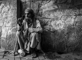 Blind Beggarman -I by InayatShah