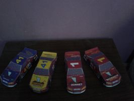 Daytona USA Hornet Nascar Edition papercraft by daigospencer