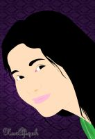 simple vector potrait by techno-x