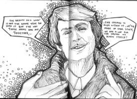Carl Sagan by sir-white-glove