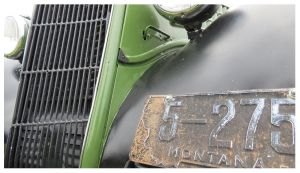 1935 Ford Coupe Plate by RueTris