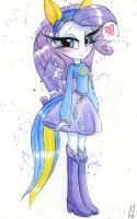 Equestria Girl Rarity by PrettyPinkP0ny