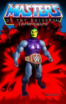 Masters Of The WWE Universal Championship by MarkG72