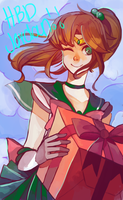 Sailor Jupiter by Sannanai