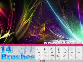 Light Streak brushes by Andrei-Oprinca