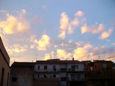 Clouds. Sun. by crista-coeur3