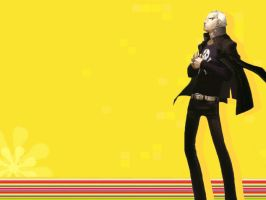 P4 Wallpaper - Kanji by Applebonker