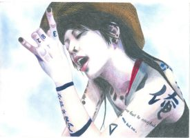 miyavi completed by isaac-laforete