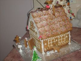 Gingerbread House (14) by jess13795